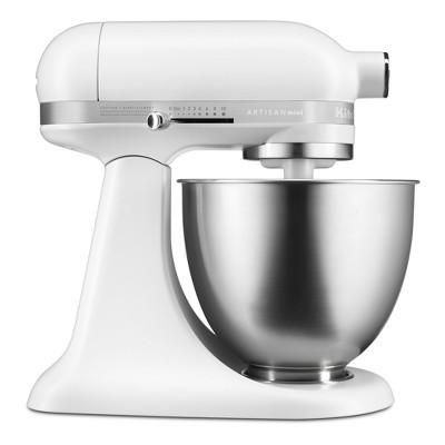 KitchenAid Refurbished Artisan Mini 3.5qt Tilt-Head Stand Mixer Matte White - RKSM33XXFW