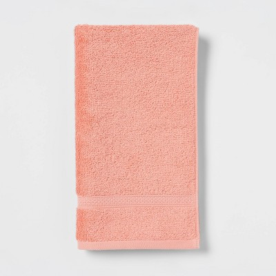 Soft Solid Hand Towel Coral - Opalhouse™