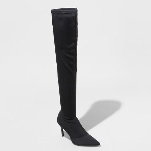 dd6047717a1 Women s Norina Wide Width Pointed Toe Sock Boots -...   Target