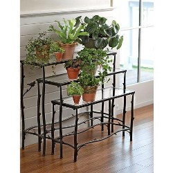 Nesting Branch Plant Stands, Set of 3 - Gardener's Supply Company