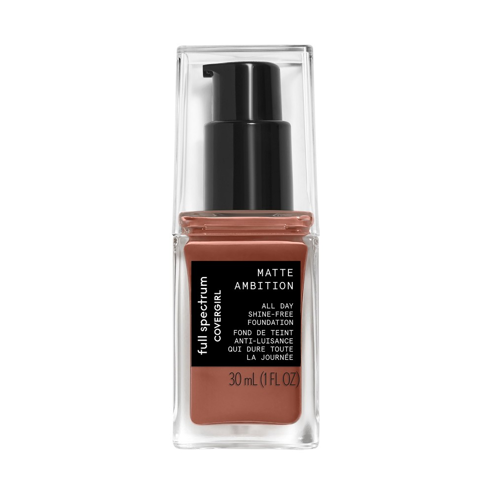 Covergirl Matte Ambition All Day Foundation Deep Cool 1 - 1.01oz