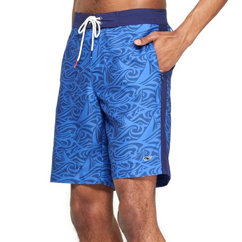 Men's Rough Seas Board Shorts - Blue - vineyard vines® for Target - image 1 of 5