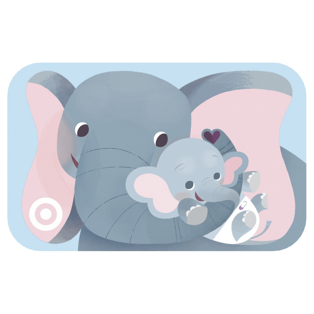 Elephant Hugs Target Giftcard Elephant Hugs Target Giftcard