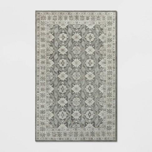Hand Hooked Wool Geometric Tufted Area Rug - Threshold™ - image 1 of 3