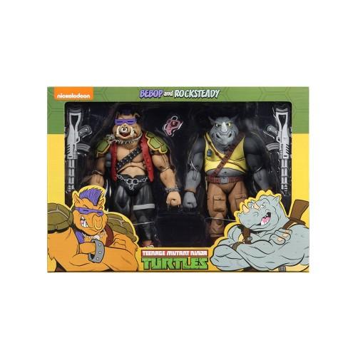 """Teenage Mutant Ninja Turtles Rocksteady and Bebop 7"""" Action Figure 2pk - image 1 of 4"""