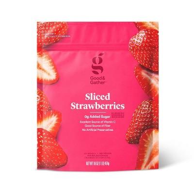 Frozen Sliced Strawberries - 16oz - Good & Gather™