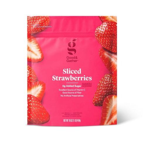 Frozen Sliced Strawberries - 16oz - Good & Gather™ - image 1 of 2