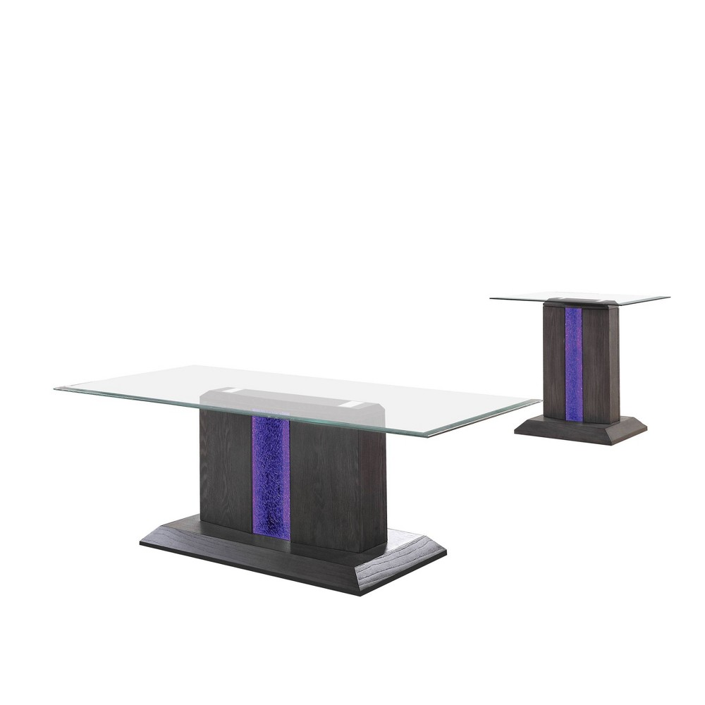 Promos 2pc Danziger Coffee Table Set Gray - miBasics