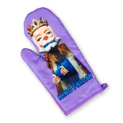 Surreal Entertainment Mister Rogers Neighborhood King Friday Puppet Oven Mitt | TV Show Merchandise