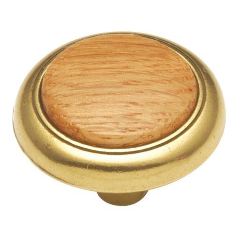 "Hickory Hardware P706 Woodgrain 1-1/4"" Mushroom Cabinet Knob - image 1 of 1"