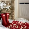 """TAG 1'6"""" x 2'6"""" Snowfall Snowflakes Holiday Winter Coir Doormat Indoor Outdoor Welcome Mat - image 2 of 3"""