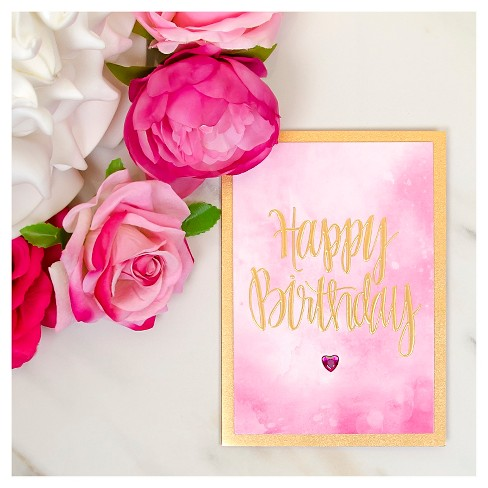 Papyrus Taylor Swift Happy Birthday Watercolor Target