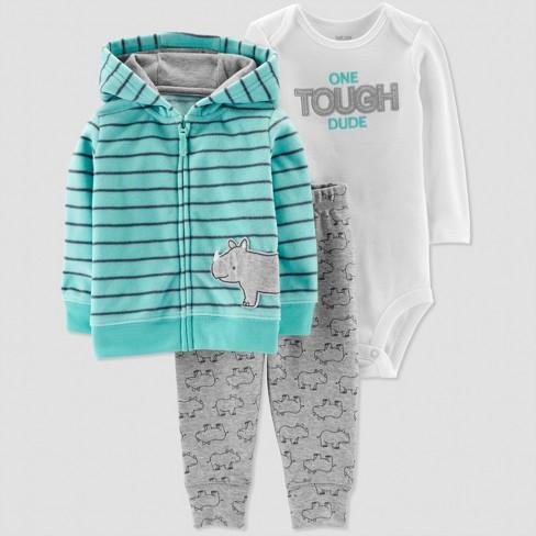 189f9514f Baby Boys  3pc Striped Rhino Cardigan Set - Just One You® Made By ...