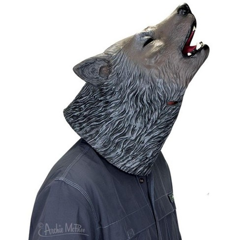 Accoutrements Howling Wolf Latex Costume Mask - image 1 of 1