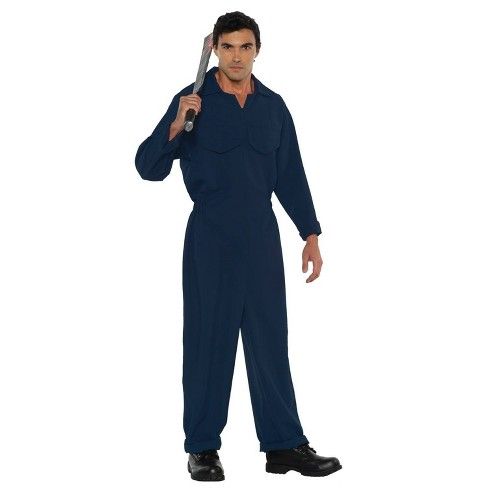 Adult Boiler Suit Dark Blue Halloween Costume One Size - image 1 of 1