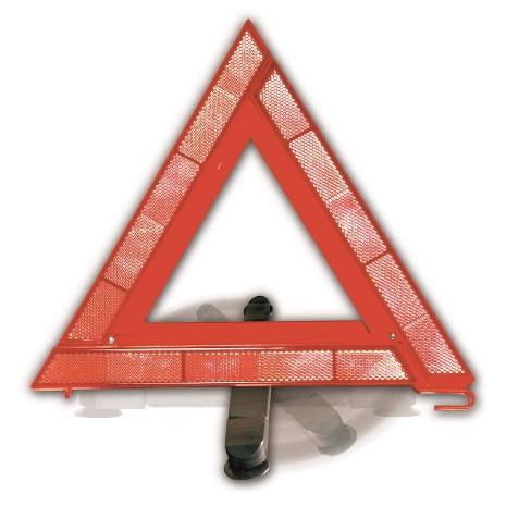 Window Triangle Safety Sign Orange - Justin Case - image 1 of 3