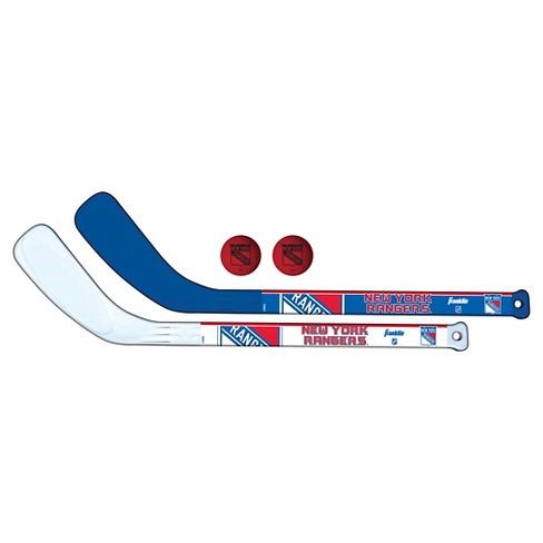 wholesale dealer 63ce4 54710 Franklin Sports NHL Team Licensed Mini Player Stick Set