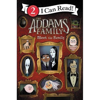 Addams Family : Meet the Family -  (I Can Read. Level 2) by Alexandra West (Paperback)
