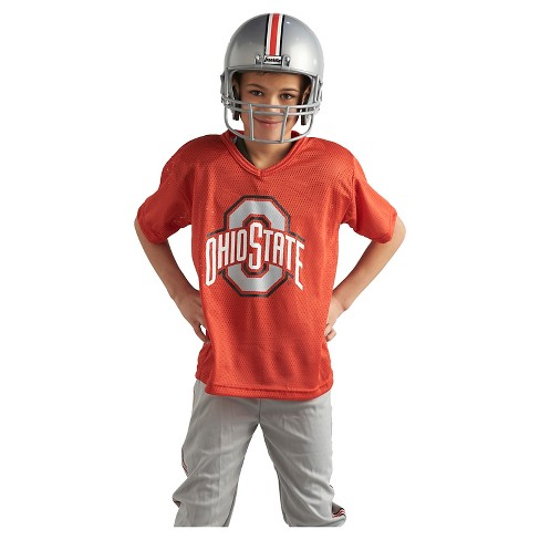 cac72927d Franklin Sports Team Licensed Ohio State Buckeyes Deluxe Football Uniform  Set   Target