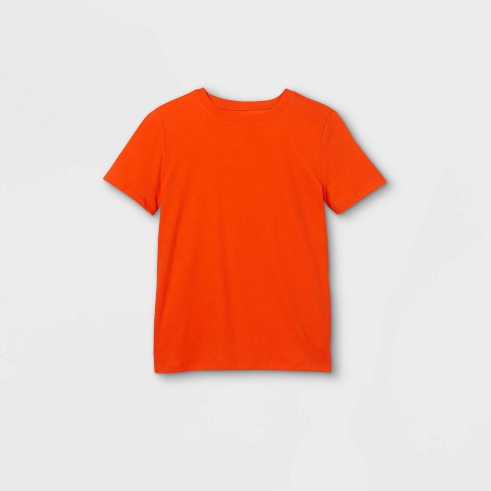 Boys 39 Short Sleeve T Shirt Cat 38 Jack 8482 Orange S