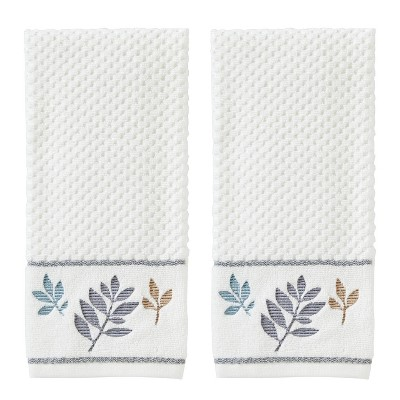 Pencil Leaves Bath Towel Natural - SKL Home