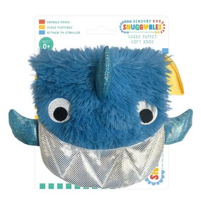 Make Believe Ideas Shark Hand Puppet Cloth Book