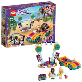 LEGO Friends Andrea's Car and Stage Playset Building Kit 41390