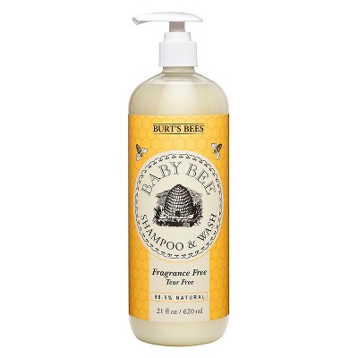 Burt's Bees Baby Bee Fragrance Free Shampoo & Wash - 21 oz