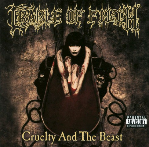 Cradle of filth - Cruelty and the beast [Explicit Lyrics] (CD) - image 1 of 1