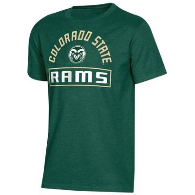 NCAA Colorado State Rams Boys' Short Sleeve Crew Neck T-Shirt