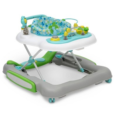 Delta Children 4-in-1 Discover & Play Musical Walker - Bubbly