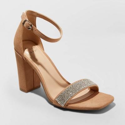 Women's Ema High Block Heel Pumps - A New Day™