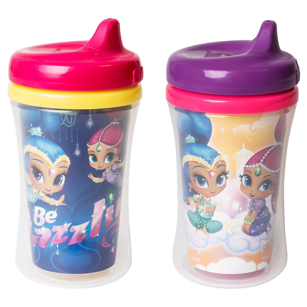 Nuk Shimmer And Shine Ins Cup 2pk Clear