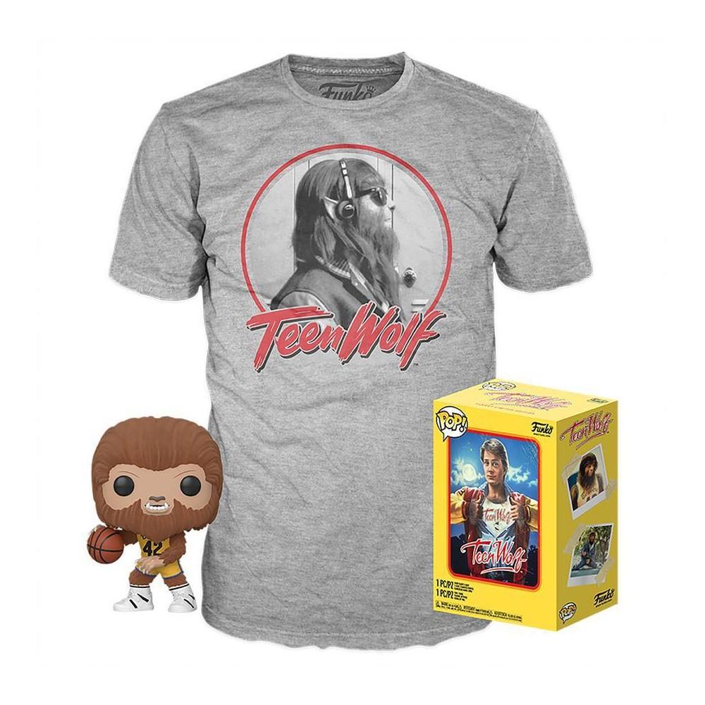 Image of Funko POP! Movies Collectors Box: Teen Wolf (Flocked) POP! & Tee - XL (Target Exclusive)