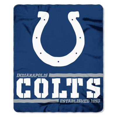 The Northwest Company Indianapolis Colts Fleece Throw , Blue