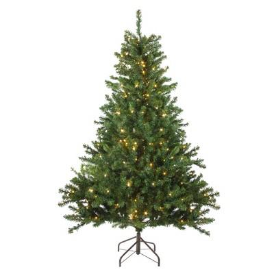 Northlight 6' Prelit Artificial Christmas Tree Medium Canadian Pine - Candlelight LED Lights