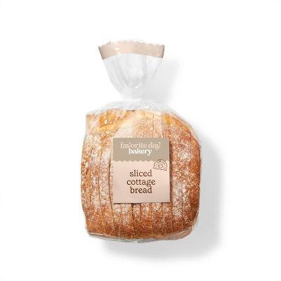 Sliced Cottage Bread - 17oz - Favorite Day™
