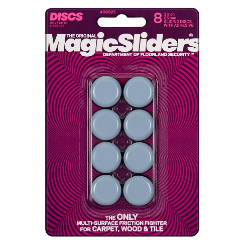 "Magic Sliders 1"" Utility Adhesive Sliding Discs 8-pk. - image 1 of 1"