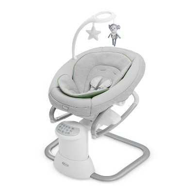 Graco Soothe My Way Baby Swing with Removable Rocker - Madden