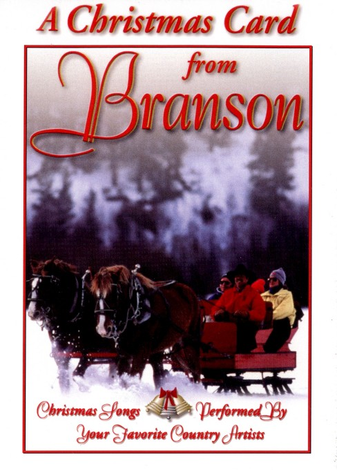 Christmas card from branson (DVD) - image 1 of 1