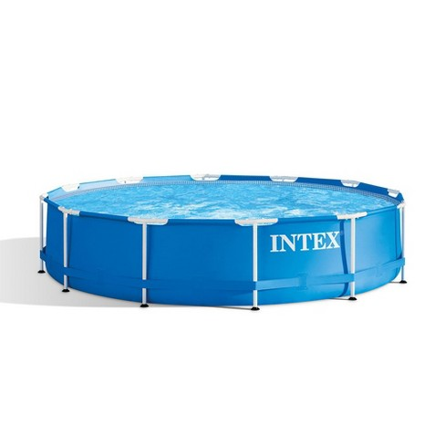 Intex 28210EH 12 Foot x 30 Inch Above Ground Swimming Pool (Pump Not  Included)
