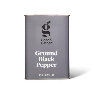 Ground Black Pepper - 8oz - Good & Gather™