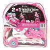 Chicago Skates Training Kids' Roller Skate Combo Set - Pink/White - image 2 of 4