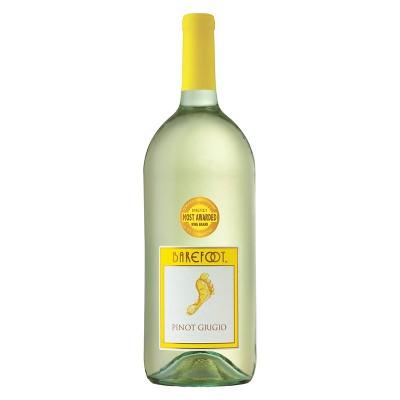 Barefoot Pinot Grigio White Wine - 1.5L Bottle
