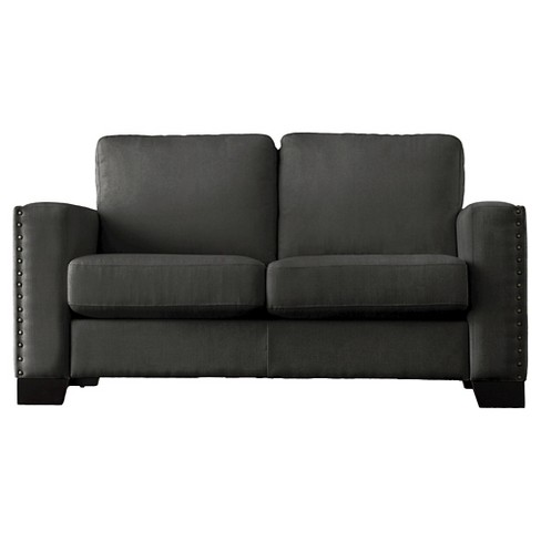 Carnegie Hill Nailhead Loveseat - Inspire Q - image 1 of 4