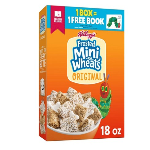 Original Frosted Mini-Wheats Breakfast Cereal - 18oz - Kellogg's - image 1 of 4