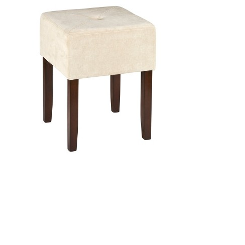 "Bellamy Backless 18"" Vanity Stool - Brown - Hillsdale Furniture - image 1 of 2"