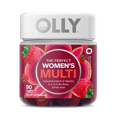 OLLY Women's Multivitamin Gummies - Berry - 90ct