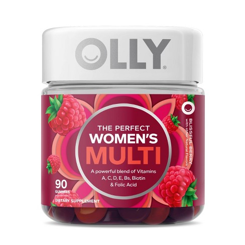 OLLY Women's Multivitamin Gummies - Berry - 90ct - image 1 of 4