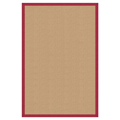 """Athena Wool Accent Rug - Red (1'10"""" X 2'10"""") - image 1 of 1"""